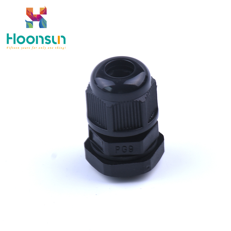 top quality pg7 ip68 plastic nylon cable gland waterproof