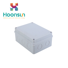 Custom Plastic ABS IP65 Connection PVC Cable Screw Electrical Junction Box
