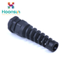 black waterproof PG Thread Strain Relief Nylon pg13.5 cable gland