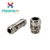 wholesale MOQ size stainless steel brass cable gland sizes from hongxiang