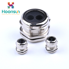customized multi hole ip68 cable gland metal