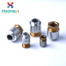 high quality customized waterproof IP54 TH Type marine brass plated nickel cable glands