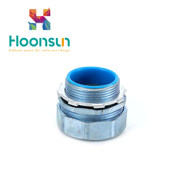 hot-selling zinc alloy galvanized steel waterproof Flexible Conduit Connector
