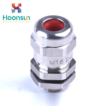 simple explosionproof and waterproof brass armoured cable gland manufactory