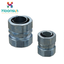 zinc alloy DPJ galvanized steel Flexible Conduit Connector price