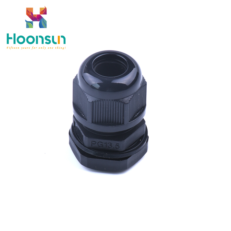 hot sale waterproof split grey nylon cable glands